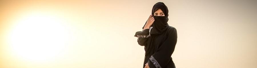Arabische Burka