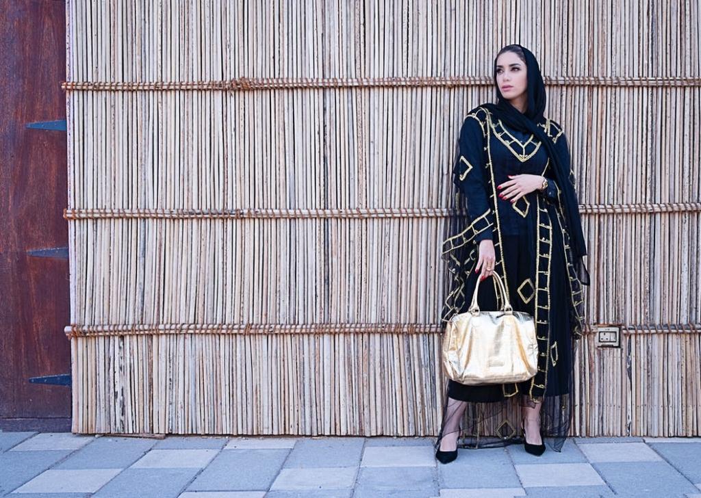 Elegante und luxuriöse Abaya